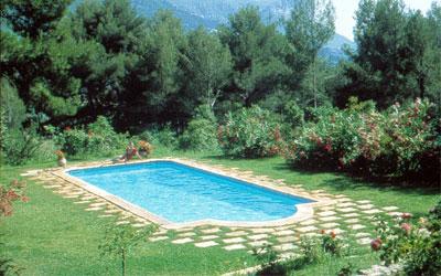 tipo rectangular piscina romana