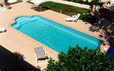 piscina de fibra 9 metros