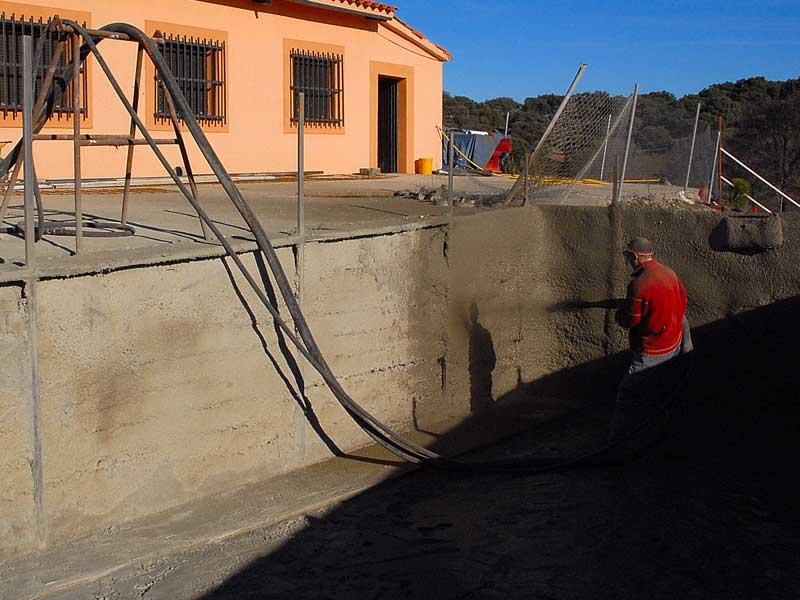 Construccion de piscinas en hormigon gunitado waterplas for Piscinas de hormigon gunitado